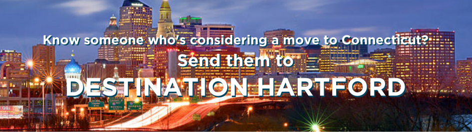 Image: Destination Hartford promotional webslider