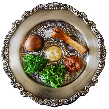 Image: Seder plate