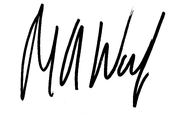 Marty's Signature