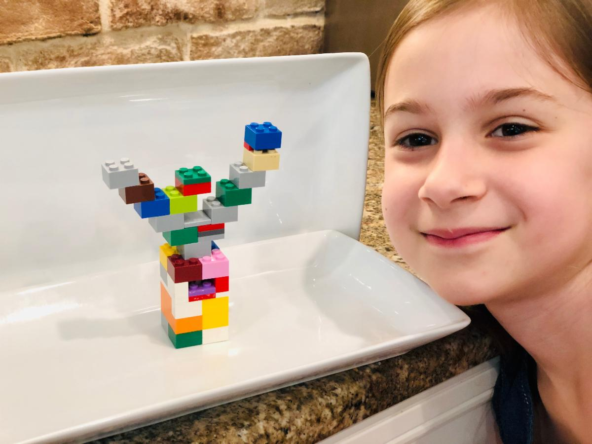 Lego Mezuza - 1st Grade