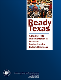 Ready Texas report webpage