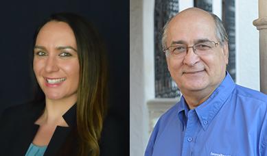 Stephanie Garcia and Aurelio Montemayor