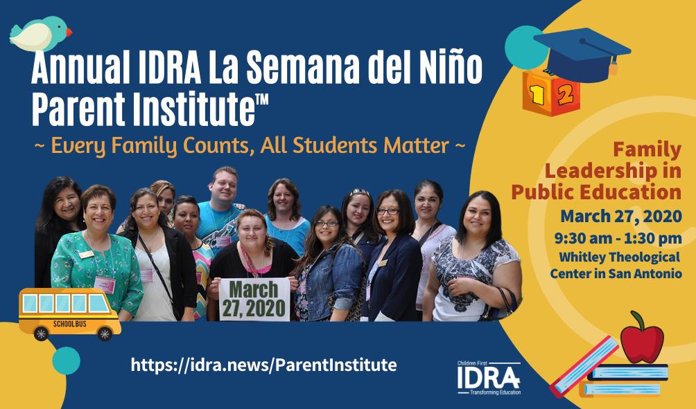 IDRA parent institute info