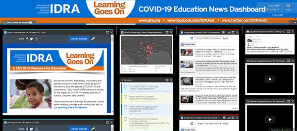 IDRA COVID-19 News Dashboard