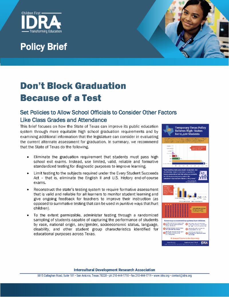 IDRA policy brief on IGCs