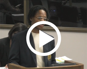 Testimony by Earl Williams video