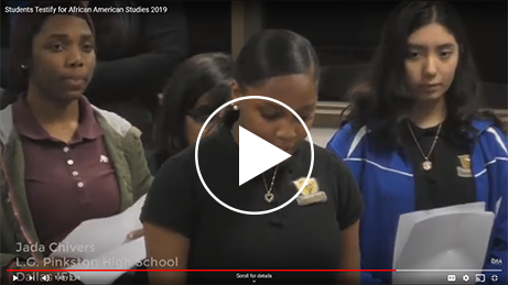 Testimony Highlights by Multiple Students video