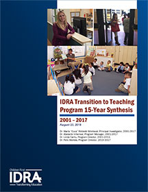 IDRA report cover image
