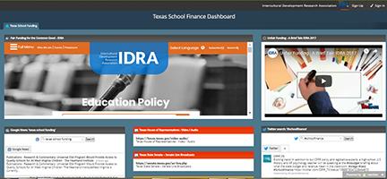school finance dashboard
