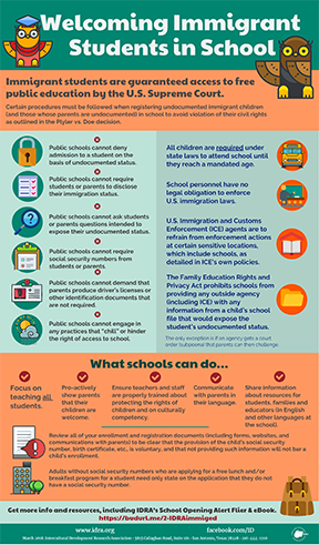 Infographic _ Immigrant Students_ Rights to Attend Public Schools