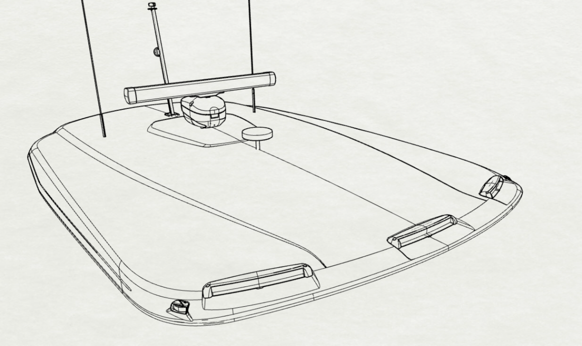 diagram of the new FRP hardtop