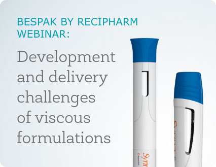 Development and delivery challenges of viscous formulations