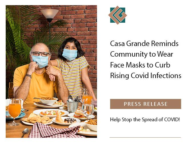 Father and daughter wearing face masks