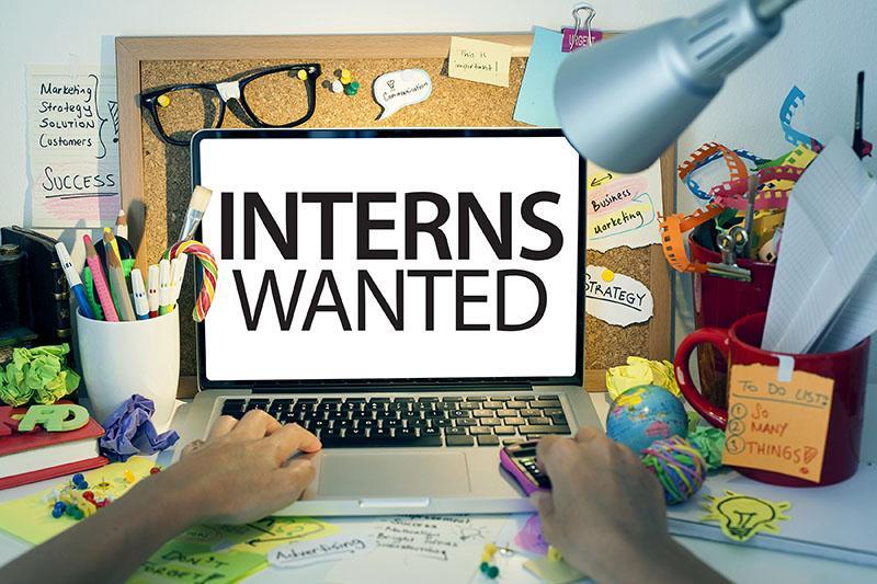 Interns Wanted Signage