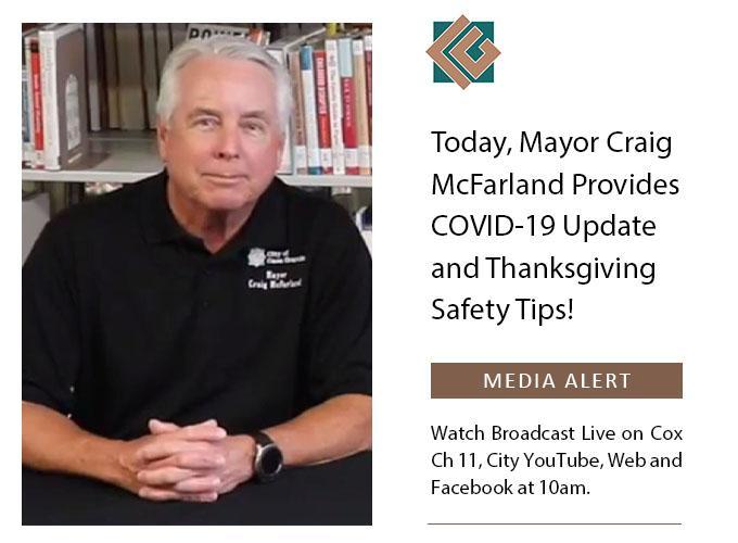 Casa Grande City Mayor Craig McFarland
