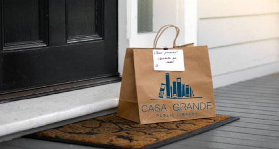 Library Contactless Delivery Bag