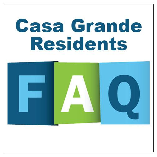 Frequently Asked Questions for CG Residents