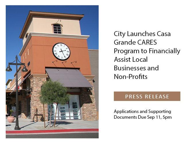 City of Casa Grande Press Release Header