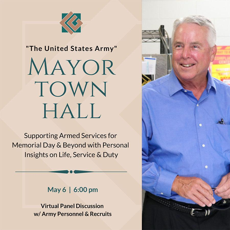 Mayor Craig McFarland Town Hall on Supporting the United States Armed Services