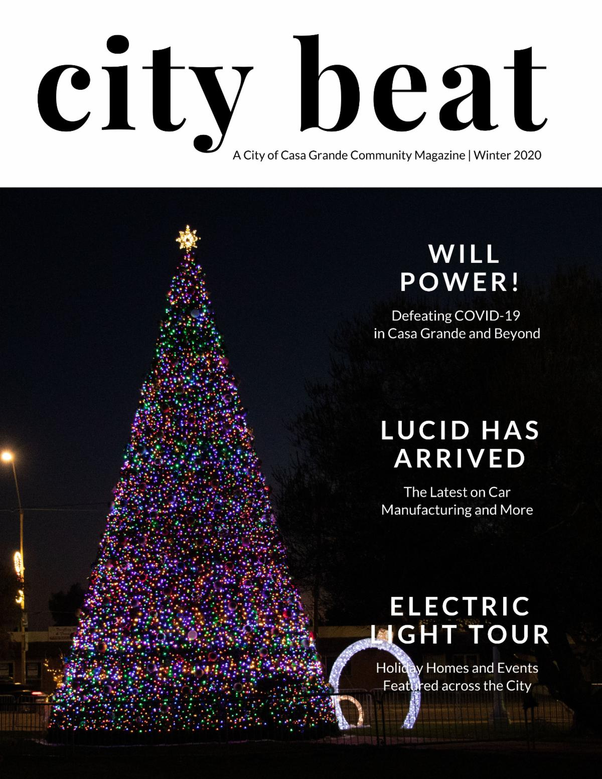 City Beat Magazine Cover for Winter 2020