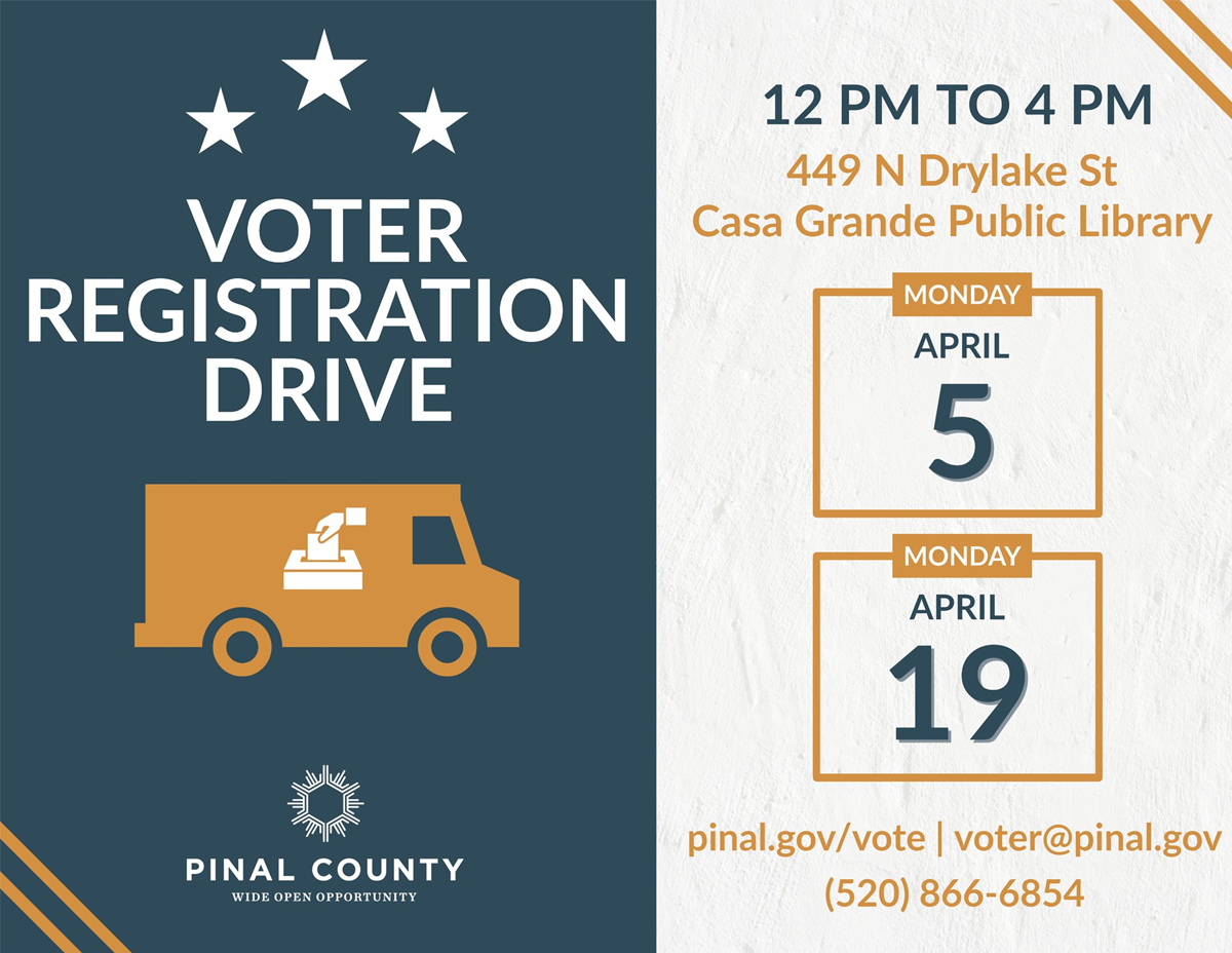 Voter Registration Drive for Pinal County