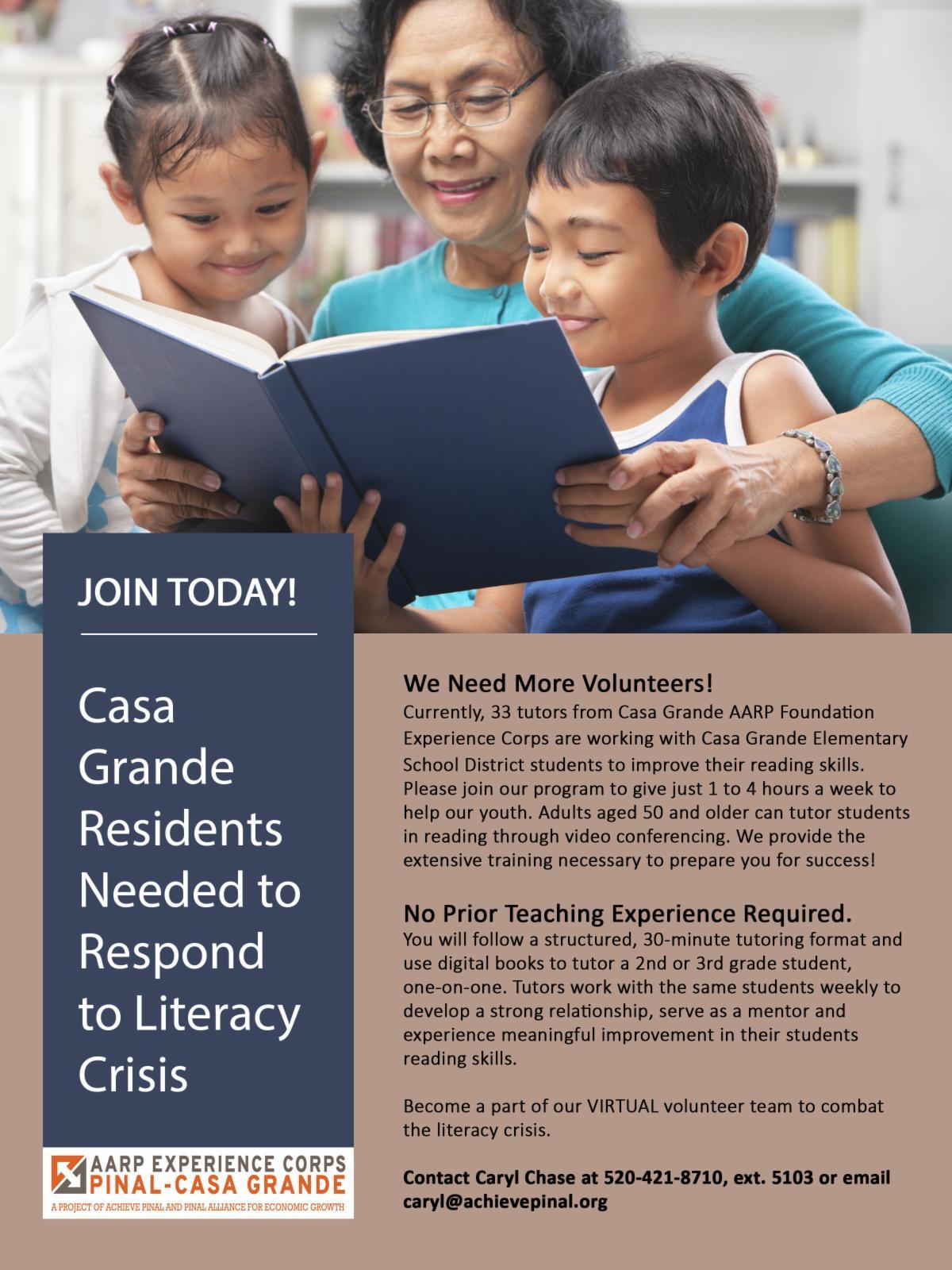 Asian elderly grandma reading with grandchildren
