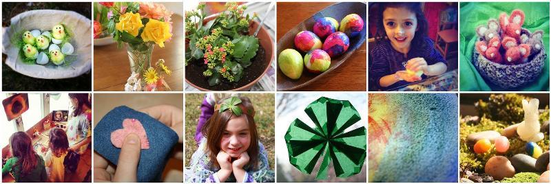 Spring Festivals Mosaic
