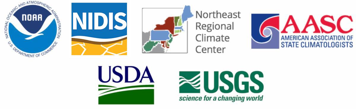 Northeast DEWS partner logos