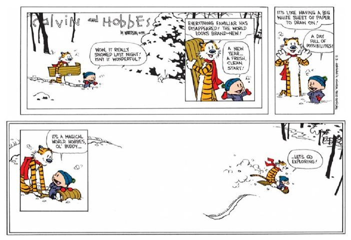 Calvin and Hobbes, Final