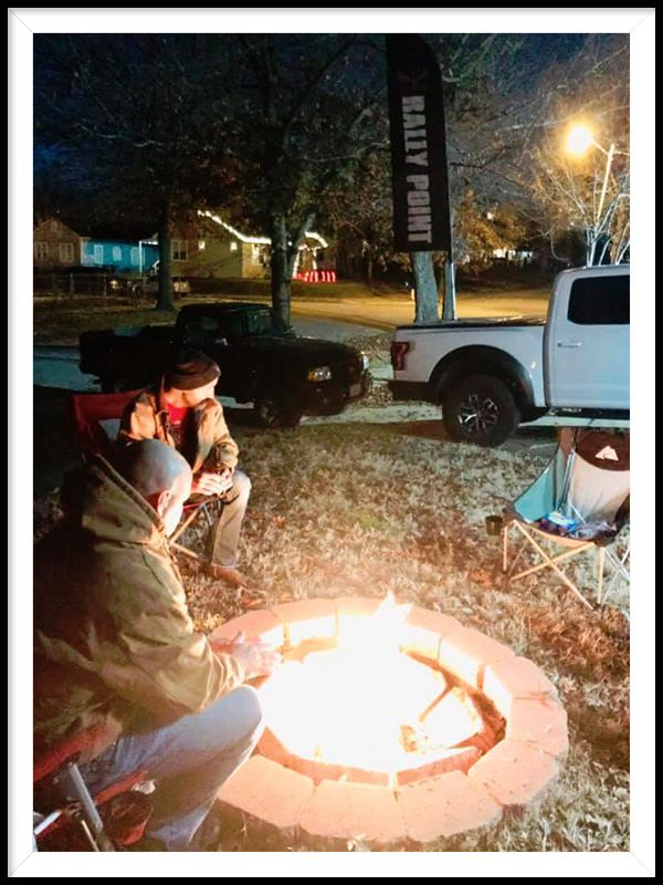 Come on out!  The fire is warm!  #ReachOneMore #RallyPoint