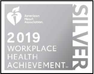 2019 Workplace Health Achievement Award