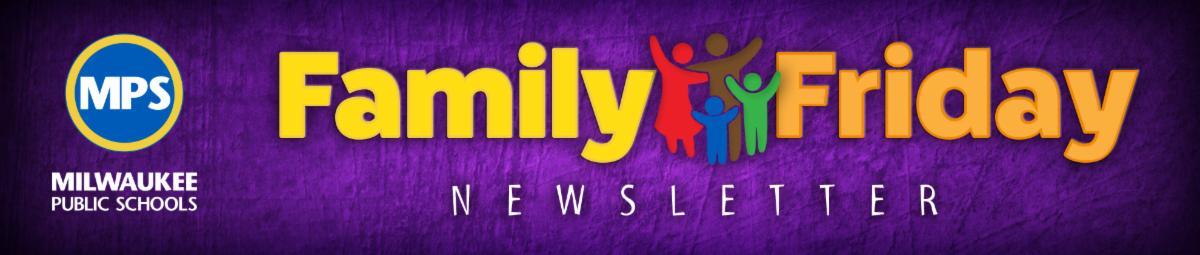Family Friday Newsletter