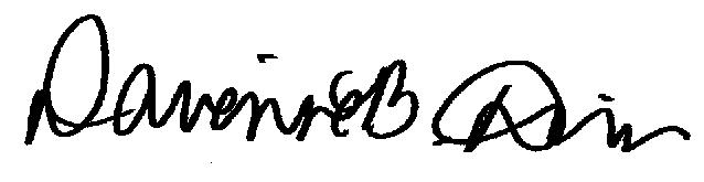 Dr. Driver Signature