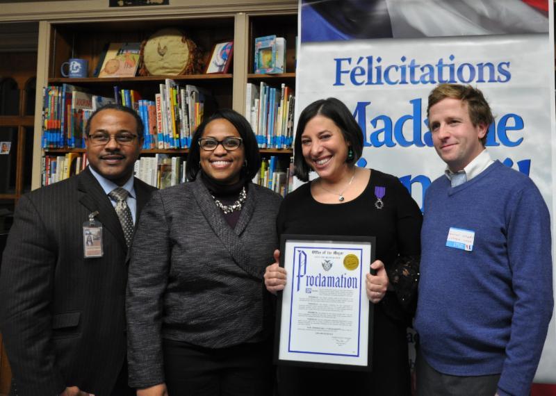 Teacher receives award
