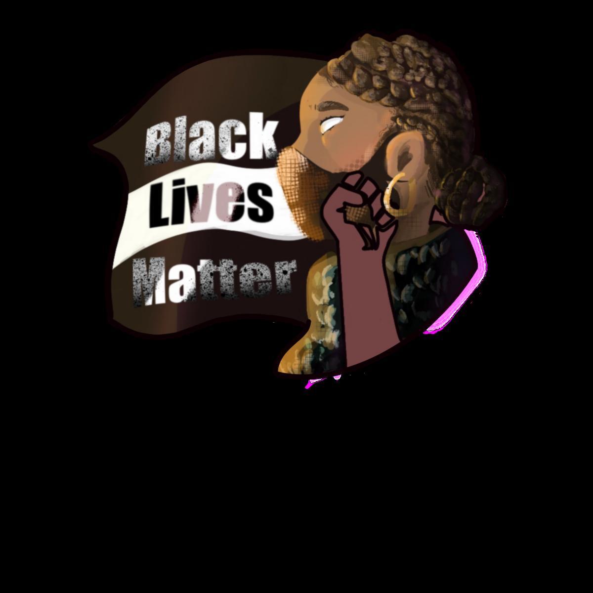 Black Lives Matter at School logo