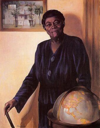 Portrait of Mary McLeod Bethune
