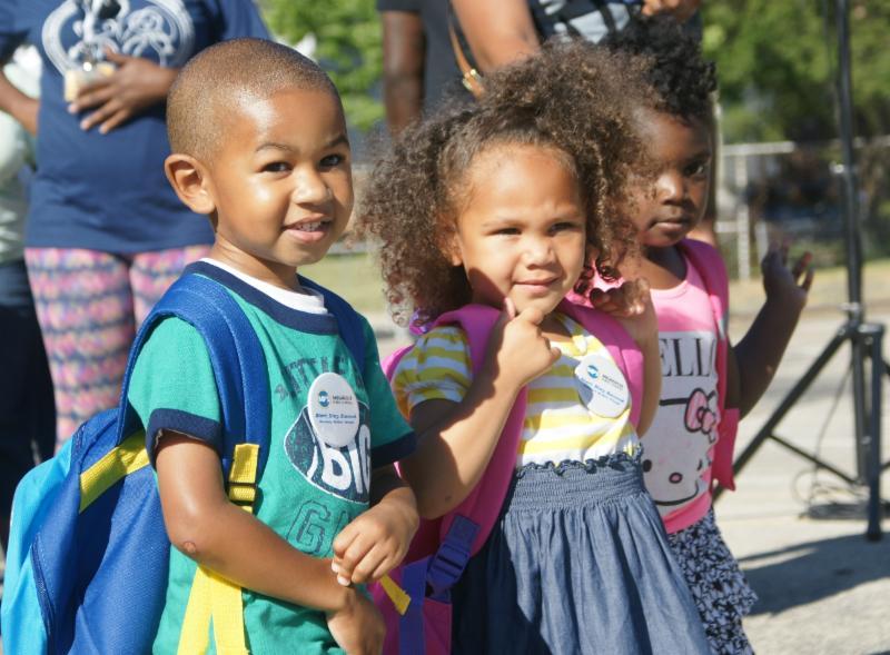 Children start school