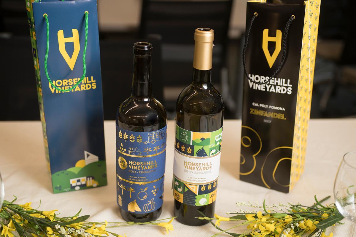 horsehill wine labels