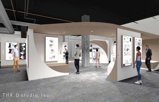 AIA LA 2x8 Exhibition Design Competition Domum