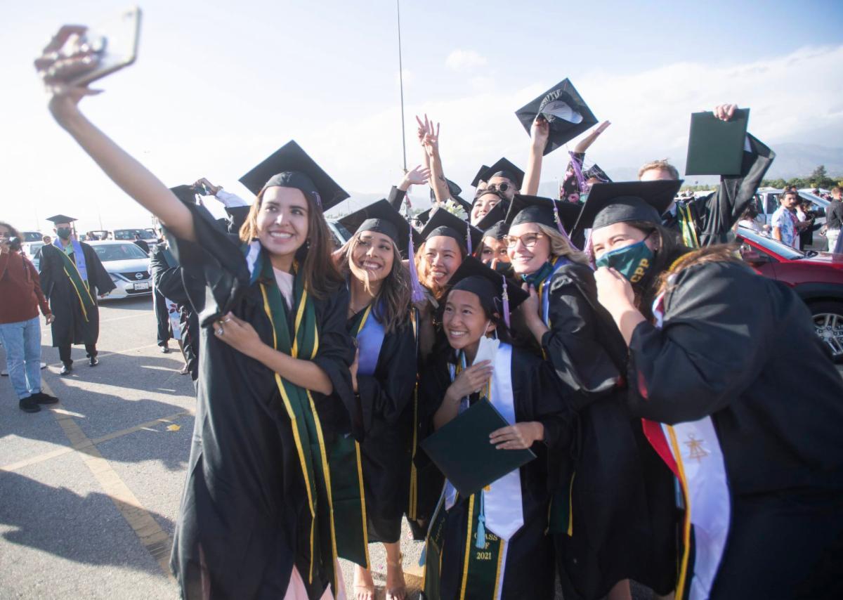 ENV graduation group shot