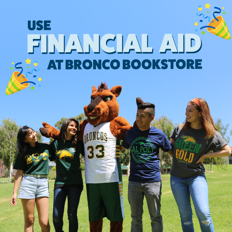 Bronco Bookstore Financial Aid Student Accounts Charging Program