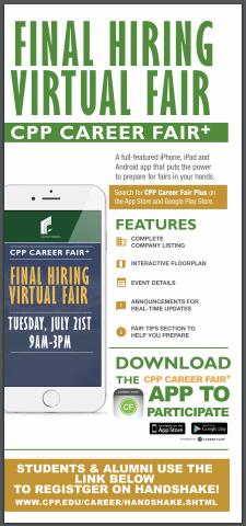 cpp final hiring fair