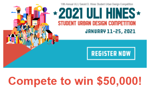 urban land institute competition flyer win $50k
