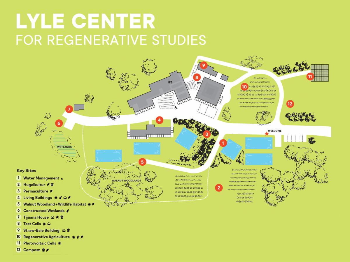 lyle center visitors guide map