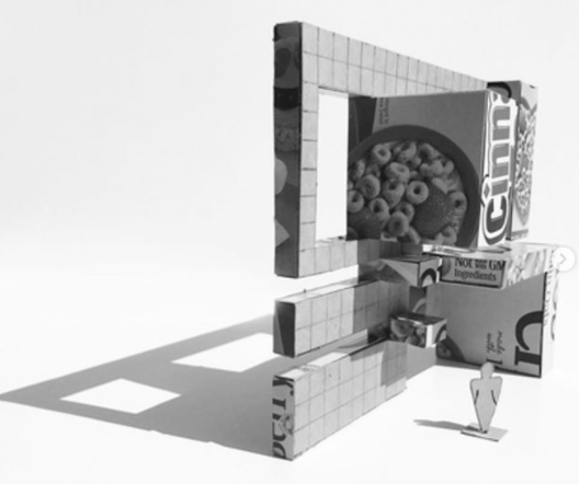 lesly calderon 1st year studio cereal box