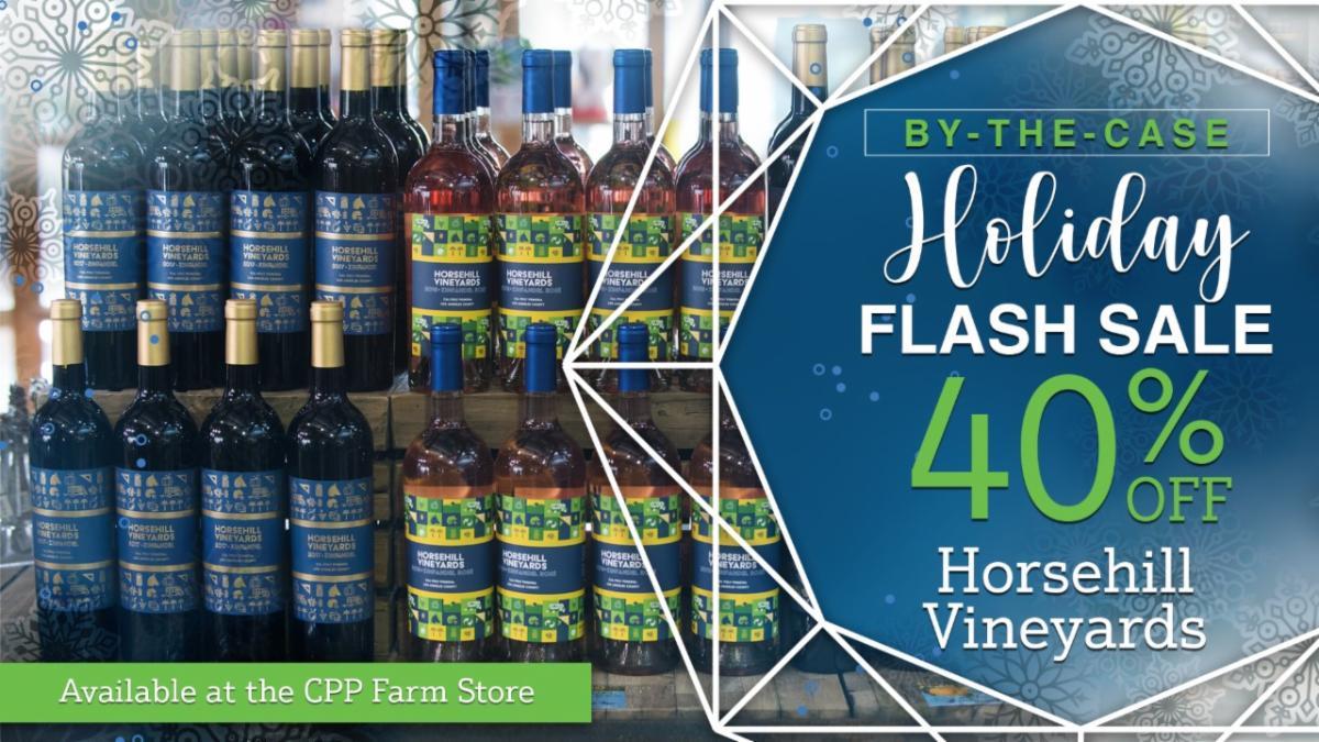 horsehill wine flash sale