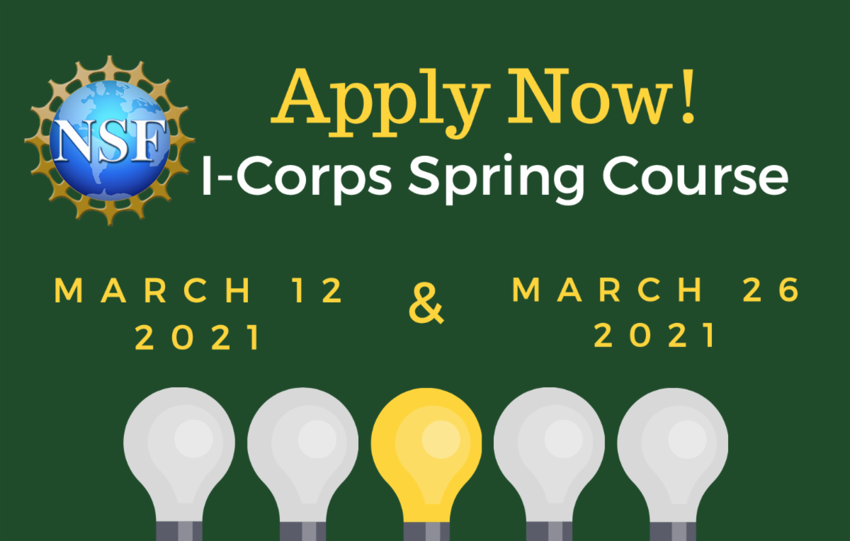 NSF I Corps Spring Course