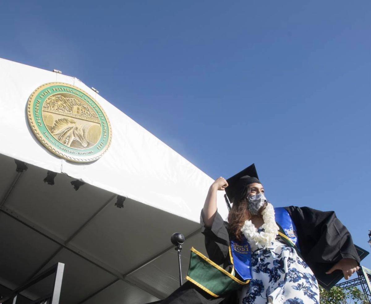 ENV graduate celebrating