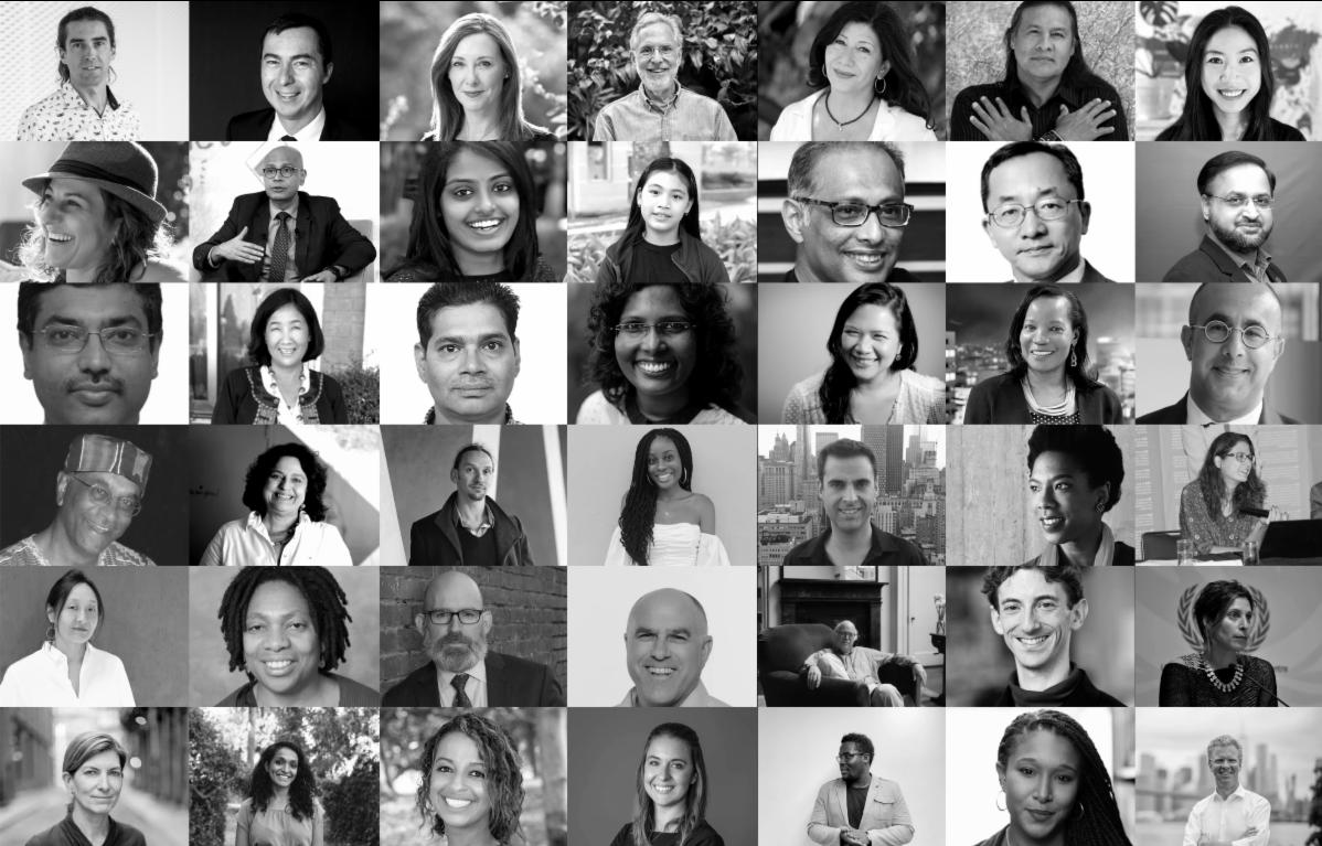 Harvard GSD Design Impact global leadership lecture series speaker portraits