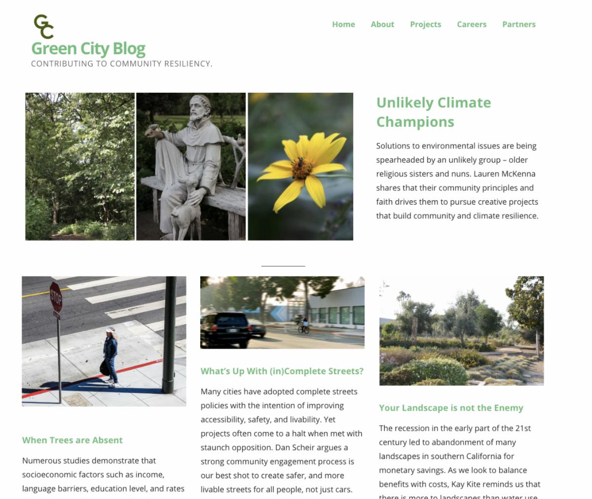 mla green city blog